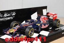 1/43 2012 DANIEL RICCIARDO TORO ROSSO STR7 FERRARI F1 SHOWCAR MINICHAMPS AUSSIE