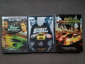 The Fast and the Furious (DVD, 2003, WS) 2 Fast 2 Furious Tokyo Drift