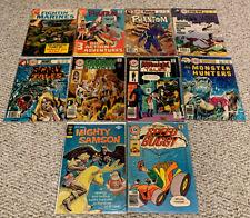 COMIC BOOK LOT: Phantom, Space, Horror, Speed Buggy, Sampson (1968-78) Charlton