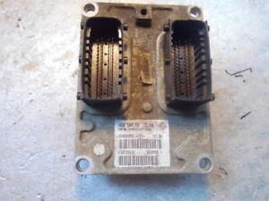 Fiat Stilo 1.6 from 2003 engine ECU IAW 5NF.T9 55189590 IAW5NFT9