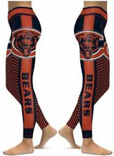 Chicago Bears Small to 2X-Large Women's Leggings New