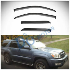 4pcs Smoke Tint Sun/Rain Guard Vent Shade Window Visors Fit 03-09 Toyota 4Runner