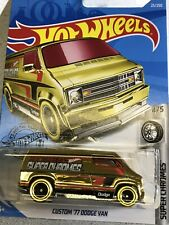 Hot wheels Super chrome Edition Custom 77 Dodge Van (Collector's)