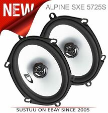 Alpine Sxe 5725S │ 12.7cmx17.8cm 2way Coaxial Haut Parleur │ Adapté Voiture /