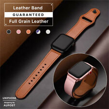 【Genuine Leather】Apple Watch Band Strap Series SE 6 5 4 3 2 1 38 42 40 44 mm