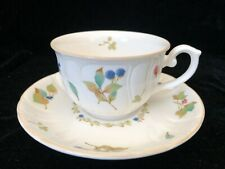 Noritake Annie Berry Cup and Saucer with Flowers - Made in Japan - NEW