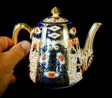 Stunning Antique Davenpot Longport 2614 Imari, 1870-1886 Teapot