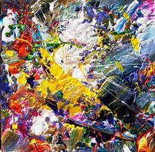 """Original Esculpidas Lona Arte Abstracto """"ráfaga"""" Rock"""