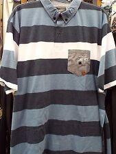 Camicie casual e maglie da uomo a manica corta a righe in misto cotone