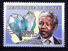 Guinee MNH, Nelson Mandela, Nobel Peace, Minerals   -N20
