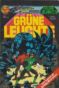 SUPERMAN präsentiert: GRÜNE LEUCHTE 1982 # 1 - EHAPA VERLAG - ZUSTAND 1-2
