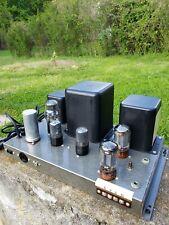 1-One Heathkit W4-am vintage Mono amplifier/serviced,P& P.