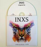 INXS PROMO - ORIGINAL SIN (feat. MYLENE FARMER : NEVER TEAR US) - CD Album