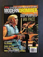 Modern Drummer Magazine October 2014  Deep Purple's Ian Paice