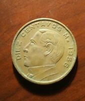 1956 ESTADOS UNIDOS MEXICANOS DIEZ CENTAVOS M.!   BB759XXX
