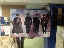 HUGE 46x31 TOMBSTONE Vinyl BANNER POSTER western!. film movie art young guns.
