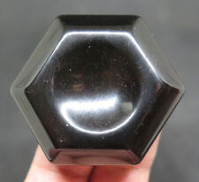 46mm 1.5OZ NATURAL Rainbow OBSIDIAN Crystal Base for SPHERE EGG Display Stand