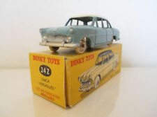 Véhicules miniatures bleus Dinky pour Simca