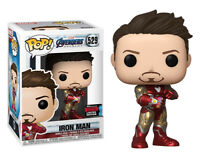 Funko Pop! Marvel Avengers Endgame #529 Iron Man 2019 NYCC Fall Excl. NIB HTF