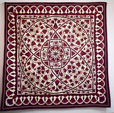 Hand stitched Egyptian applique quilt patchwork/bedspread/ wall hanging tapestry