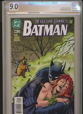 BATMAN DETECTIVE COMICS #694! SIGNED BY BOB KANE PGX 9.0 (Like CGC / CBCS)! WOW!