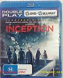 INCEPTION - DOUBLE PLAY DVD + BLU RAY (LEONARDO DICAPRIO) VGC