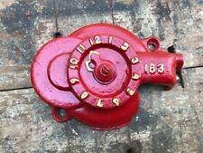 International Harvester Dial Antique Tractor Part Farm Advertising Cast Iron 183