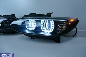 BMW M3 M4 Style  LED DRL Projector Head Lights for 06-09 BMW E92 E93 Pre LCI 3 S