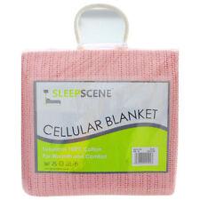 Colchas y edredones color principal rosa 100% algodón