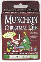 Munchkin SJG1532 Christmas Lite (Intro Set) Holiday Humor Adventure Card Game