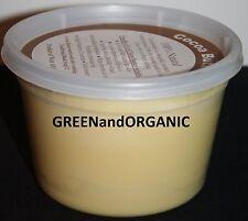 16 oz 100%Pure Raw Organic Natural COCOA BUTTER Unrefined Virgin Cacao 1 Lb/453g