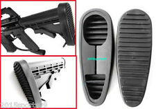 6 Position Anti-Slip Stealth Rubber On Rubber Butt Pad Combat Stand Holder #06