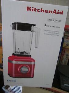 KitchenAid K150 3 Speed Ice Crushing Blender - Passion Red BRAND NEW!