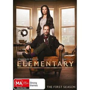 Elementary The First Season 1  (DVD, 6 Disc Set) - Region 4 NEW+SEALED