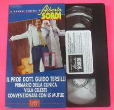 VHS film IL PROF DOTT GUIDO TERSILLI PRIMARIO CLINICA ALBERTO SORDI(F107)no dvd