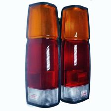 D21 FRONTIER NAVARA 86-97 FIT NISSAN PICK UP TAIL REAR LIGHT LAMP +SOCKET PAIR