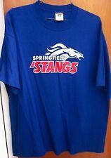 SPRINGFIELD MUSTANGS High School XXL tee Virginia T shirt 2XL horse logo