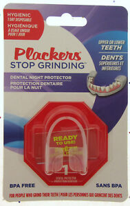 Plackers ~ Stop Grinding ~ Dental Night Guard Teeth Saver