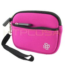 Small Pink Digital Camera Case Cover for Panasonic Lumix DMC-FH24 DMC-FH25K