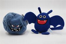 Square Enix Dragon Quest Smile Slime Plush Drakee Bakudan Iwa Pendant Doll 2pcs