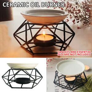 Duftlampe Duftöllampe Aroma Kerzen Diffuser Diffusor Metal Kerzenhalter Teelicht