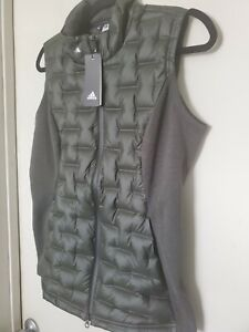 New Womens Adidas Frostguard Vest Small S Green MSRP $150 DZ6419