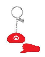 Nintendo Gummi-Schlüsselanhänger Mario Hat 7 cm NEU & OVP