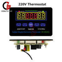 XH-W1411 AC 220V LED Display Temperature Controller Thermostat Control Switch
