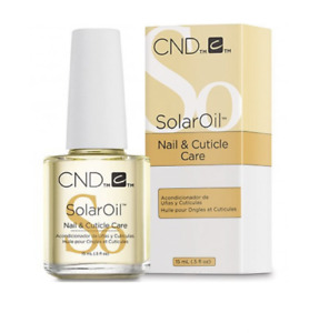 CND Shellac Solar Oil Nail & Cuticle Conditioner 15ml TRAVEL SIZE PERFECT GIFT