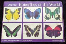 BUTTERFLIES OF THE WORLD -BROOKE BOND TEA CARD  - COMPLETE SET 1964