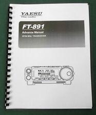 Yaesu Ft-891 Advanced Operating Manual - Premium Card Stock & Plastic Covers!