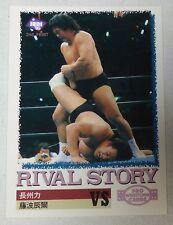 Tatsumi Fujinami Riki Choshu 1995 1997 BBM New Japan Pro Wrestling Card WWE NJPW
