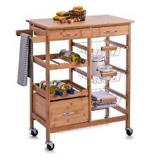 Schön Anrichten U0026 Servierwagen Aus Holz Für Die Küche