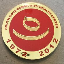 South Cove Community Health Center Asian Community Massachusetts Coin Medal
